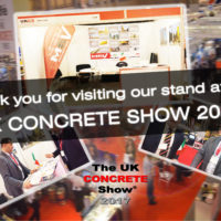 MEV at the UK Concrete Show 2017